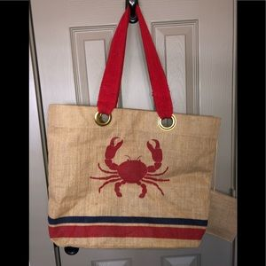 Handbags - Summer Beach or Pool side Bag - EUC